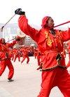 欢乐的舞蹈跳起来 民和县举办春节社火汇演活动