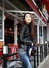气质女星高姝瑶街拍平板壁纸