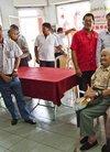 驻毛里求斯大使李立出席华商总会敬老活动