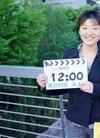 时钟美女卢斯佳的封面真人秀 卢斯佳照片