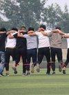 威县二中高中部举行趣味体育活动