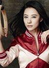 中国评论新闻:刘璇登杂志封面 吊环风情显运动...