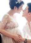 王栎鑫王烁鑫和吴雅婷孕妇写真照