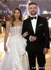贾老板Justin Timberlake携爱妻出席活动 两人相...