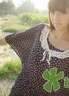 向日葵女生任曦拍田园写真 清秀佳人阳光气质
