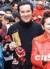 图:甘国亮与薛家燕出席新春团拜活动