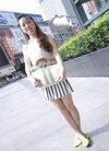 时钟美女李霞的封面真人秀 李霞照片