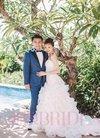 朱孝天韩雯雯登杂志封面 将办海岛婚礼