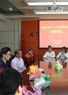 六安二中开展为身患重病的朱闵同学捐款活动