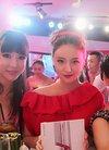 刘筱筱出席时尚活动 《水浒》剧组现场助阵
