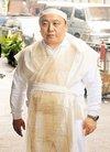 香港著名导演王天林出殡 王晶戴孝憔悴现身