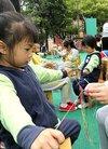 西门幼儿园趣味活动迎立夏