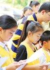 惠州举行公益活动引导青少年心怀感恩养成美德