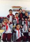 润诺携形象代言人徐百卉参与公益希望小学活动