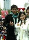 组图:《雪天使》台北造势活动 众演员盛装出席