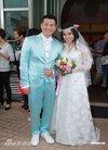 图文:港星欧锦棠举行婚礼-幸福的一对新人