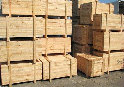 木制包装箱的制作方法