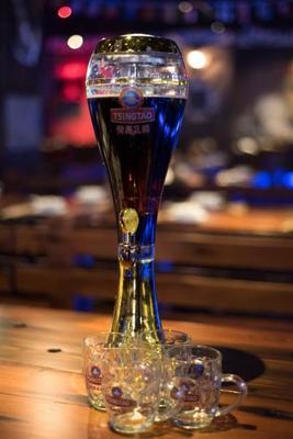 扎啤机接酒方法  扎啤机放酒时沫多怎么打
